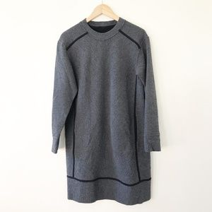 Lululemon Gray On Repeat Sweater Dress Size 8